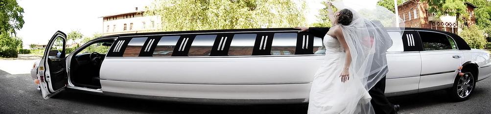 Papuošimai vestuvėms, limuzinas